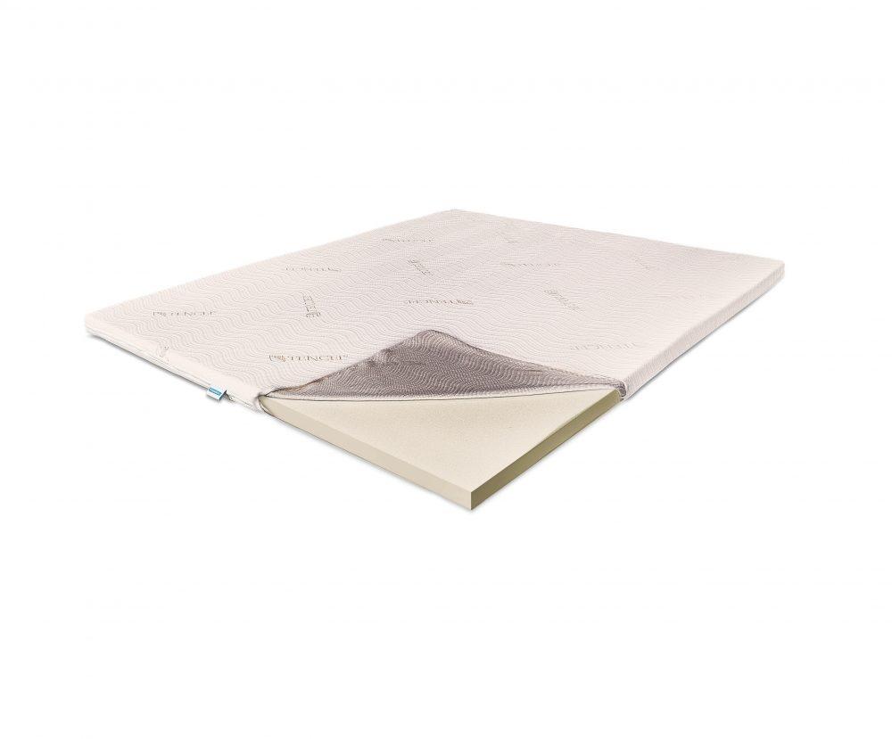 Topper Saltea Super Ortopedic, 5 cm Tencel, 160 x 190 cm poza ortopedicus.com